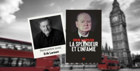 Erik Larson : « J'ai appris toutes sortes de choses mystérieuses sur les Churchill »