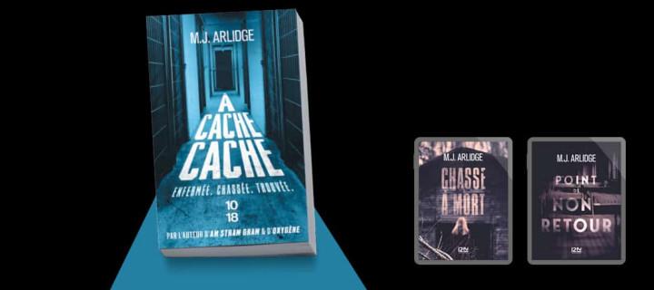 M.J. Arlidge : 3 enquêtes d'Helen Grace à paraître le 11 février