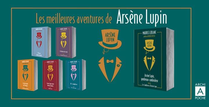 Une édition collector d'Arsène Lupin préfacée par Michel Bussi