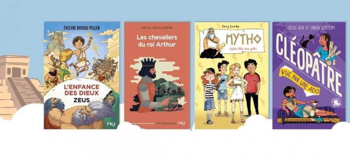 15 livres pour faire découvrir la mythologie aux enfants