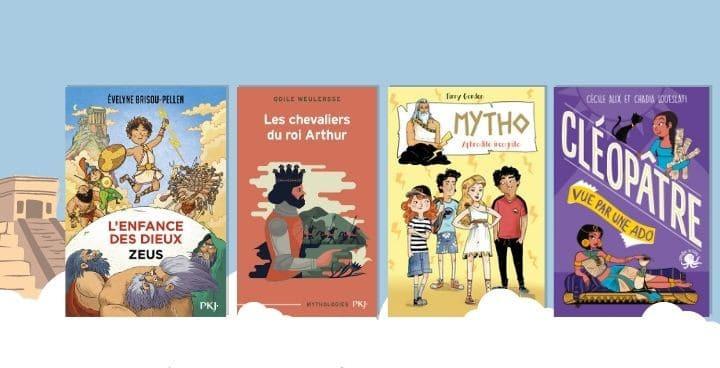 15 livres pour faire découvrir la mythologie aux enants