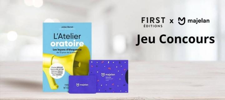 Les Éditions First et Majelan s'associent pour un concours sur Instagram