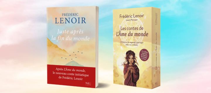 Le double événement Frédéric Lenoir !
