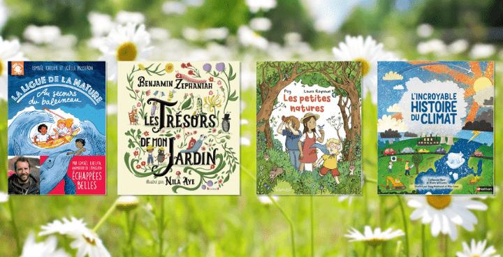 14 livres pour sensibiliser les enfants à l'écologie
