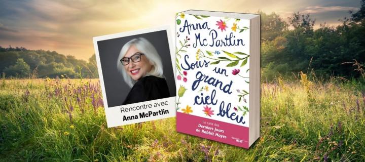 Anna McPartlin : « Je peux écrire sur le deuil sans donner à mes lecteurs l'envie de se jeter par la fenêtre… (rires) »