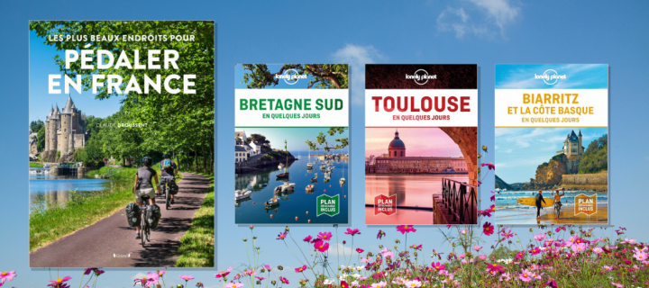13 livres pour organiser vos week-ends en France