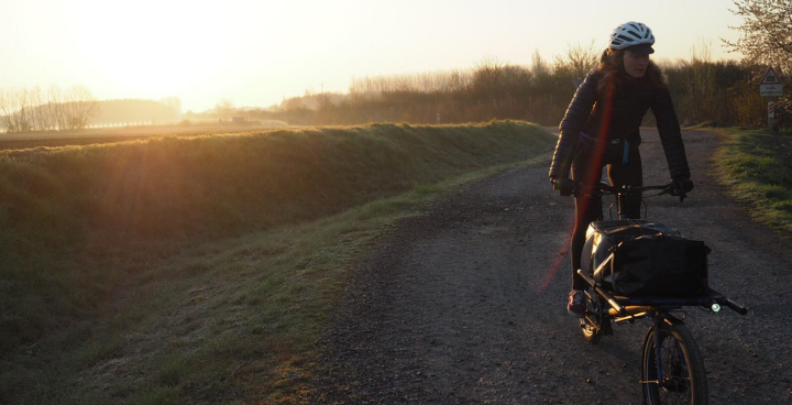 Cargo bike tour : sur la route avec Louise Roussel