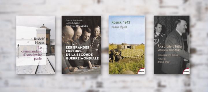 Seconde Guerre mondiale : 9 livres cette période sombre de l'Histoire