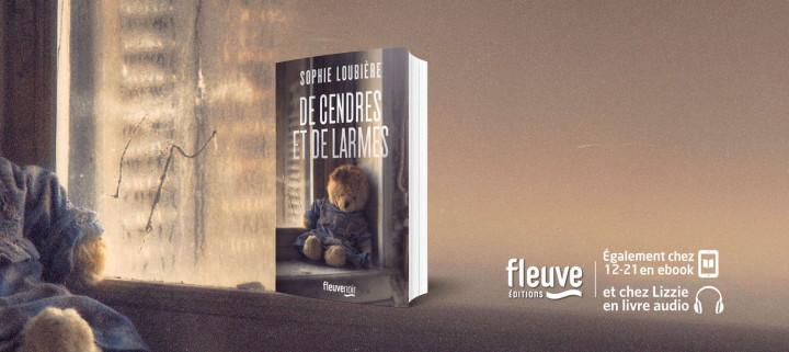 """""""De cendres et de larmes, à sa façon, est un conte spirituel contemporain"""" Sophie Loubière"""