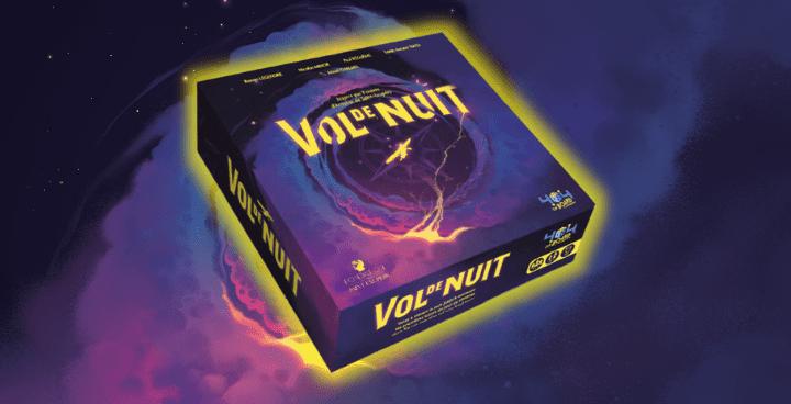 Vol de nuit : le premier jeu de plateau du label 404 on Board