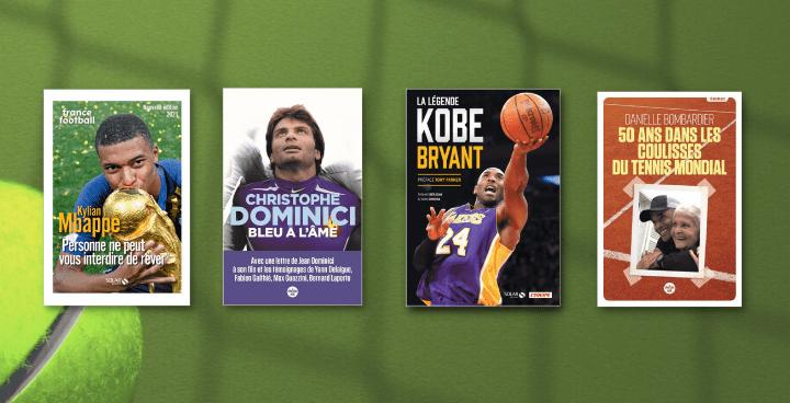 Fête des Pères : 11 livres pour les mordus de sport