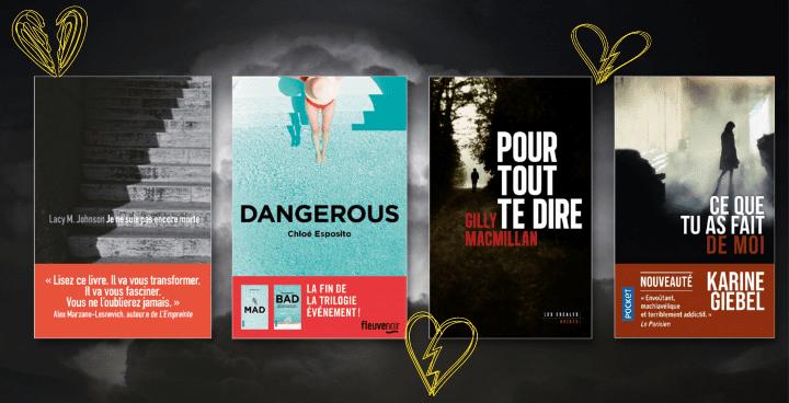 14 thrillers où l'amour tourne mal