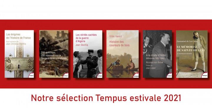 Des livres Tempus à emporter avec vous cet été