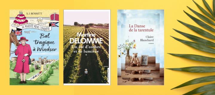 Lectures d'été : douze romans à emporter dans sa valise !