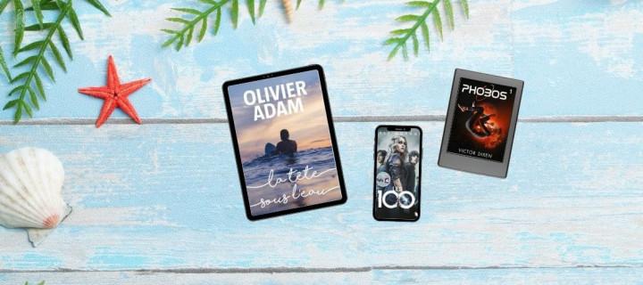 Livres numériques en promo : 18 romans à prix réduit pour un été en plein R !