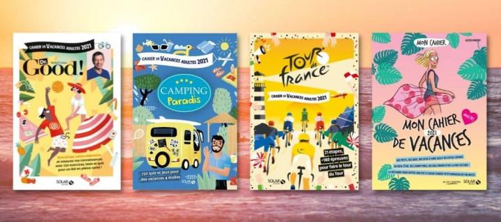 Culture générale et détente : 8 cahiers de vacances à emporter partout