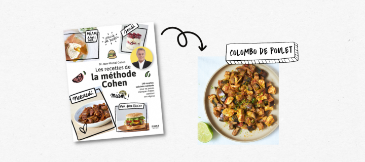 Régalez-vous avec le Colombo de poulet des recettes de la méthode Cohen