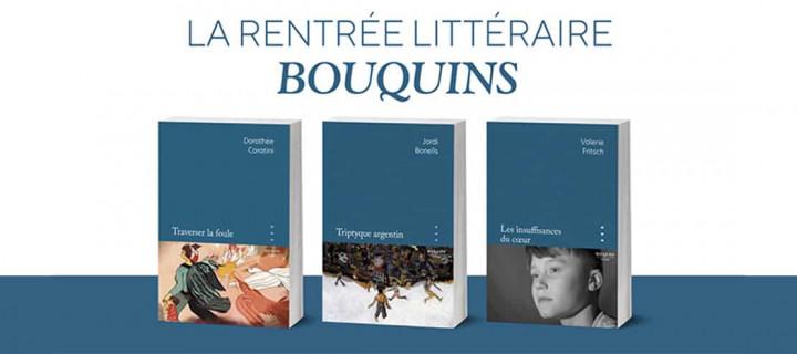La Rentrée littéraire Bouquins 2021