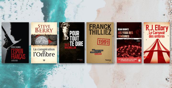 30 romans pour frissonner cet été