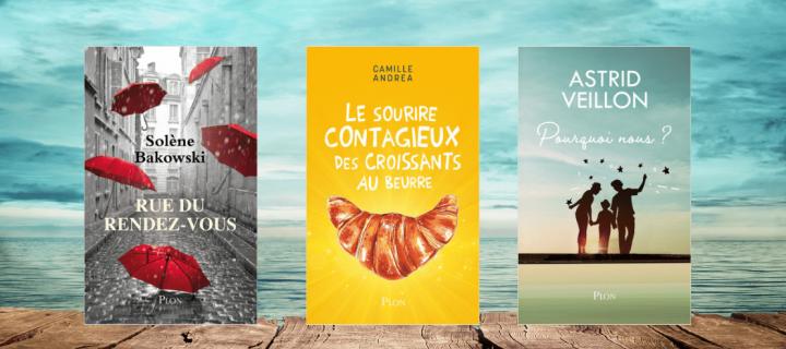 Notre sélection de lectures pour vos vacances d'été !