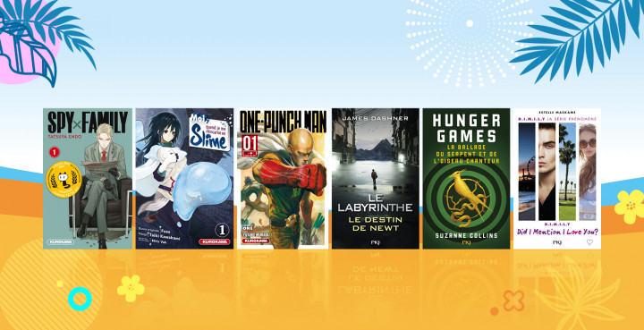 #Ados : 20 idées de livres pour pimenter votre été