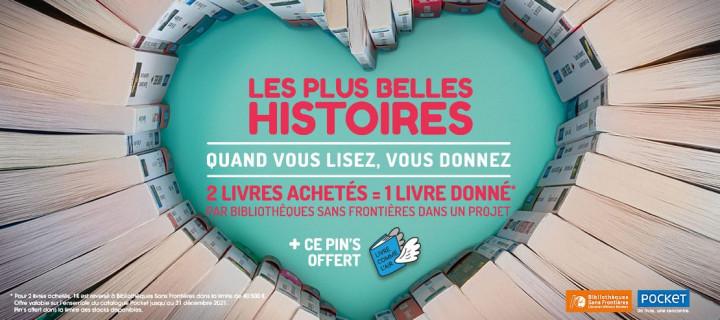 Pocket et Bibliothèques Sans Frontières s'associent