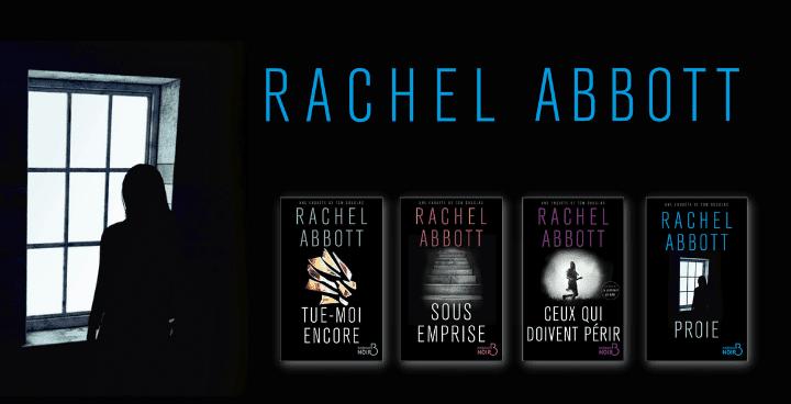 Quatre polars de Rachel Abbott en exclusivité numérique