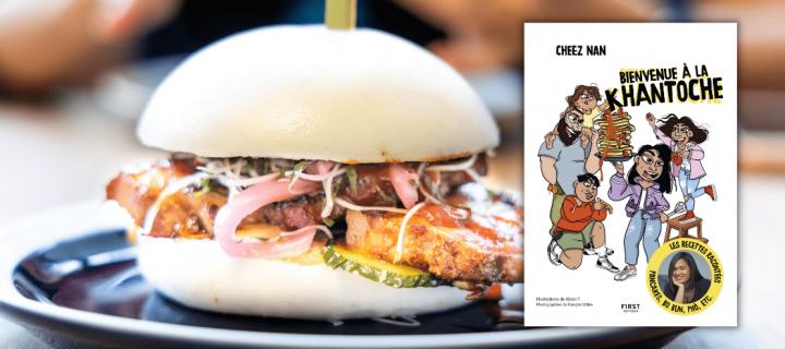 Régalez-vous avec le bao burger signé Cheez Nan !