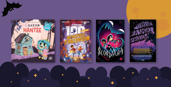 Halloween : 15 romans pour vos enfants
