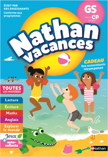 Cahier de Vacances 2021 de la GS vers le CP - Maternelle 5/6 ans