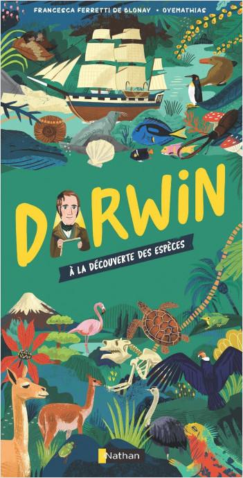 Darwin -  À la découverte des espèces - Documentaire dès 9 ans