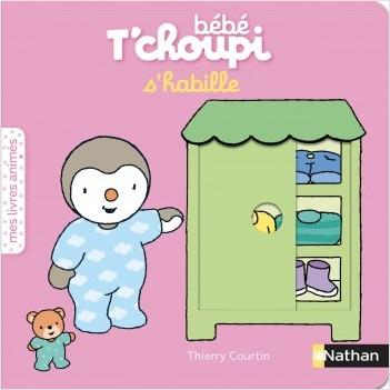 Bébé T'choupi s'habille - Livre animé - Dès 6 mois