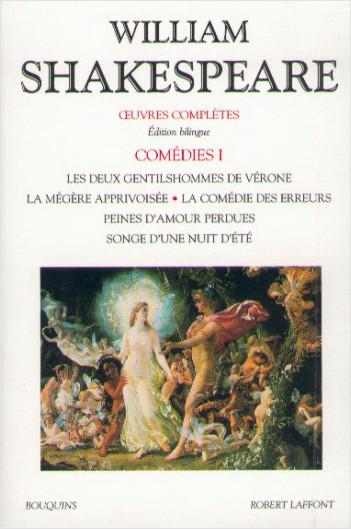 Oeuvres complètes - Comédies - Tome 1 - Édition bilingue francais-anglais