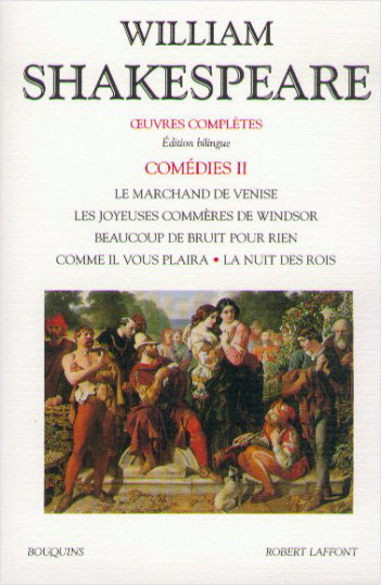Oeuvres complètes - Comédies - Tome 2 - Édition bilingue francais-anglais