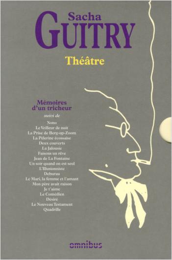 Coffret Théâtre de S. Guitry 2013