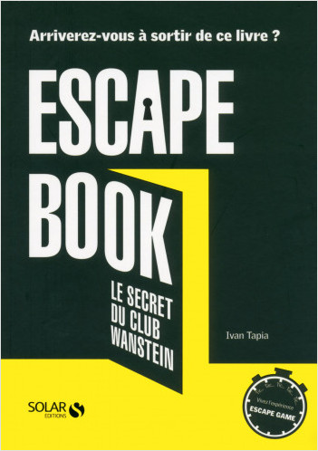 Escape book, le secret du club Wanstein
