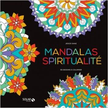 Black Coloriage- Mandalas Sagesse