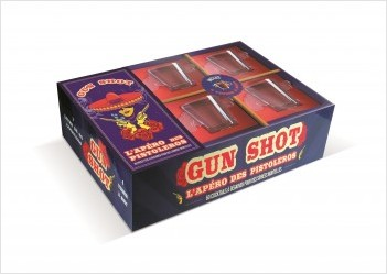 Coffret cocktails Gun Shot Pistoleros