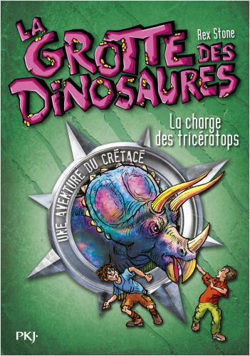 2. La grotte des dinosaures : La charge des tricératops