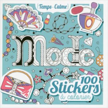 100 stickers à colorier - Mode