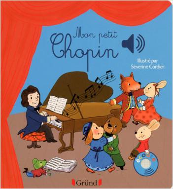 Mon petit Chopin – Livre sonore avec 6 puces – Dès 1 an