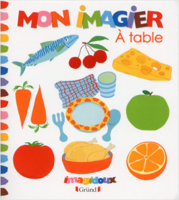 Mon Imagier - A table