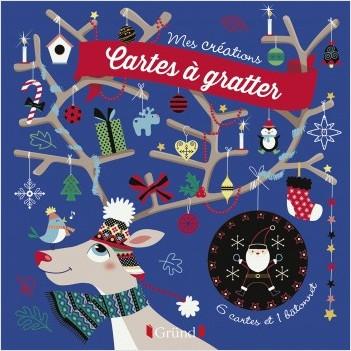 Cartes à gratter - Décorations de Noël