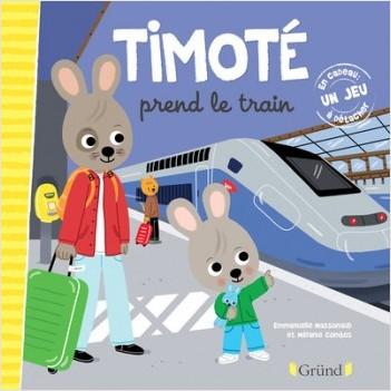 Timoté prend le train