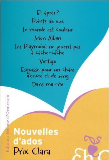 Nouvelles d'ados (Prix Clara 2012)