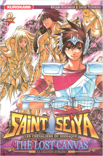 Saint Seiya - Les Chevaliers du Zodiaque  - The Lost Canvas - La Légende d'Hadès - tome 02