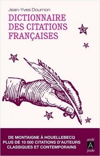 Dictionnaire des citations françaises