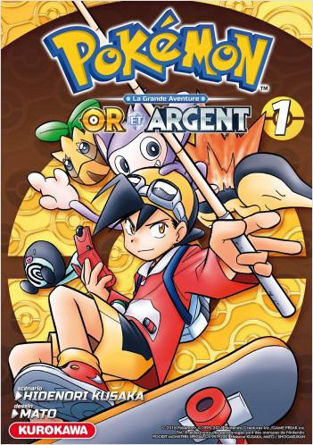Pokémon - Or et Argent - tome 01