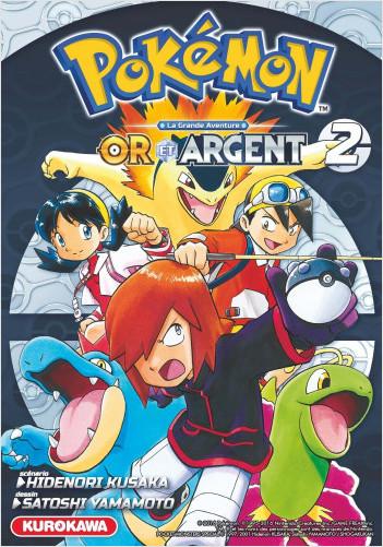 Pokémon - Or et Argent - tome 02