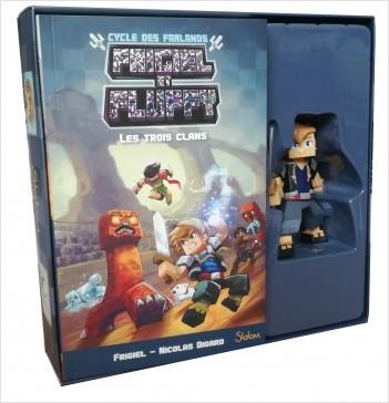 Frigiel et Fluffy : Le Cycle des Farlands, tome 1 : Les Trois Clans - coffret collector – Minecraft